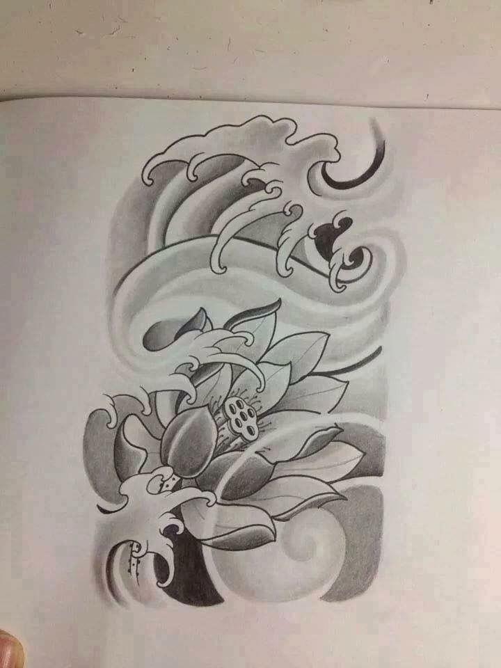 Ideia Por Rd Wisskell Em Tatuajes Tatuagem De Flor Japonesa