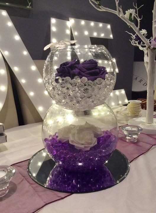 party & wedding centrepiece hire in swansea and south wales