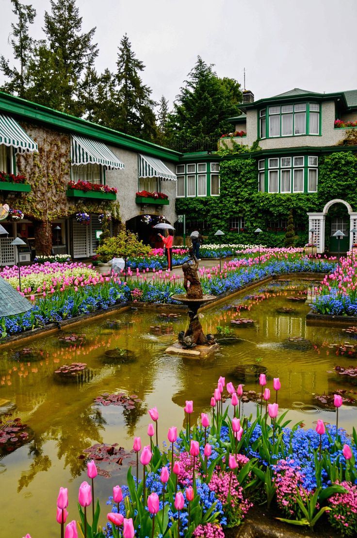 Fotografia Butchart Gardens  de CHRIS TAYLOR na 500px