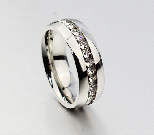 Elegant Cheap ring rose gold Buy Quality titanium steel ring directly from China rose gold ring Suppliers Geometric Design Women Fashion Wedding Ring Rose Gold