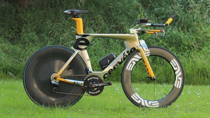 Steve Cummings' Tour de France Cervelo P5 TT