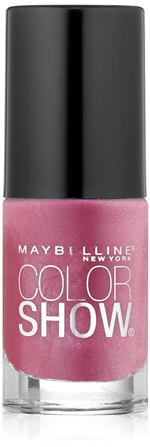 Maybelline New York Color Show Nail Lacquer, Rose Rapture, 0.23 Fluid Ounce