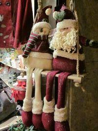 Muñecos navideños, de nieve, papanoel.