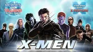 Игровой автомат X-Men -онлайн игра с героями из комиксов Marvel.