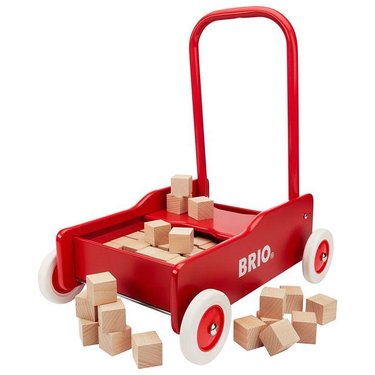 BRIO - Toddler Wooden Wobbler With Blocks