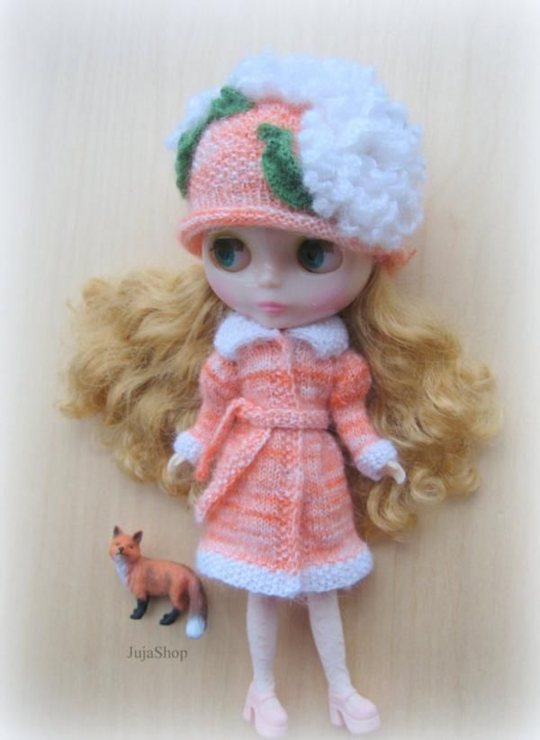 Hat for Neo Blythe doll by JujaShop