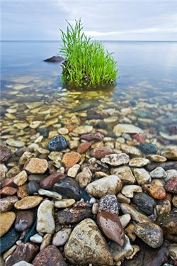 Hecla Island Provincial Park, Manitoba, on Lake Winnipeg.