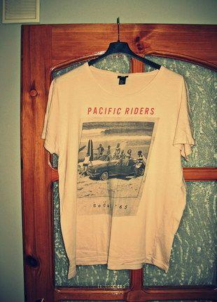 Kup mój przedmiot na #vintedpl http://www.vinted.pl/odziez-meska/koszulki-z-krotkim-rekawem-t-shirty/10327040-koszulka-t-shirt-meski-lososiowa-krotki-rekaw-hm-rozmiar-xl