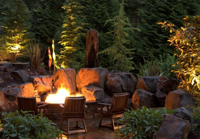 Fun Outdoor Living : 17 Best images about Fire pit on Pinterest  Gardens, Fire ...