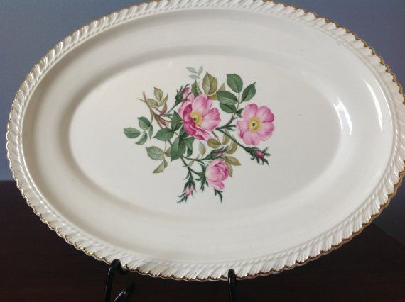 Serving Platter made by the Harker Pottery Co
