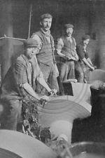 Knife Grinders Sheffield c.1900 Photo 6x4