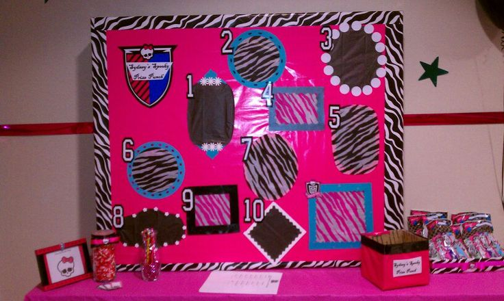 Monster High punch game