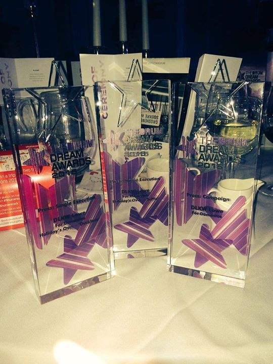 Congrats to DLKW Lowe on an amazing night at The Drum's Dream Awards. Our London agency took home 3 prizes as well as the 'Dream Agency' award! http://bit.ly/1Le5yeu