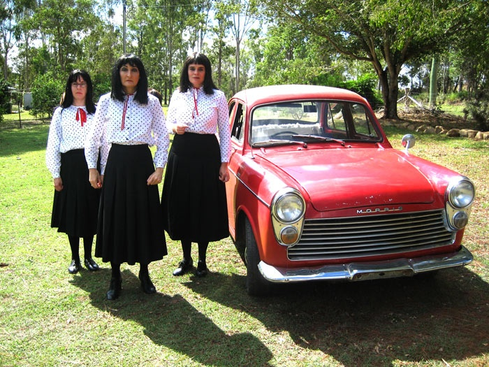 The Kransky Sisters and their Holden