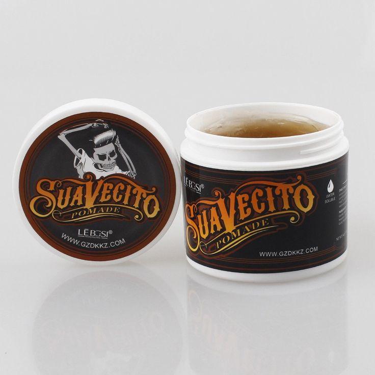 Professional Hair Wax Pomade Hair Pomade Cera Para Cabelo Styling Wax Skeleton Cream Slicked Oil Mud Hair Wax Men