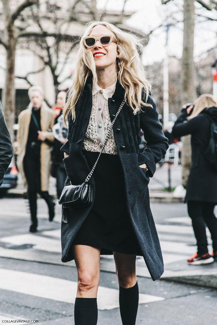 PFW-Paris_Fashion_Week_Fall_2016-Street_Style-Collage_Vintage-Miu_Miu-Chloe_Sevigny-Socks-2