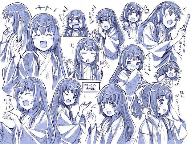 マリーさん表情集 / さきの新月 さんのイラスト - ニコニコ静画 (イラスト)