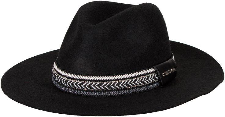WOW! Deze mooie zwarte Supertrash hoed vind je nu in de uitverkoop op Aldoor! #mode #dames #vrouwen #accessoires #hoed #fedora #hat #zomer #festival #look #women #fashion #accessories #sale