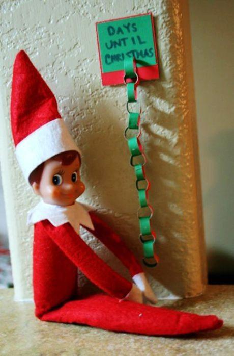 Elf On The Shelf Ideas, 2013 Christmas Elf On The Shelf Ideas for kids, Days until Christmas