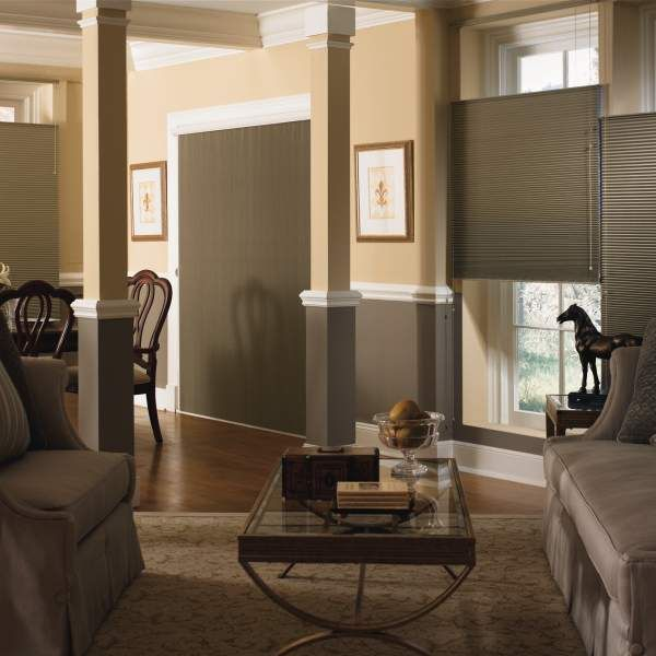 Graber Slide Vue Blackout Double Cell Shades Enhance A