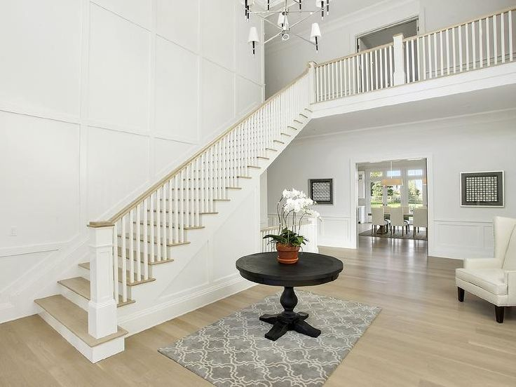 Enclosing A Two Story Foyer : Best ideas about story foyer on pinterest two