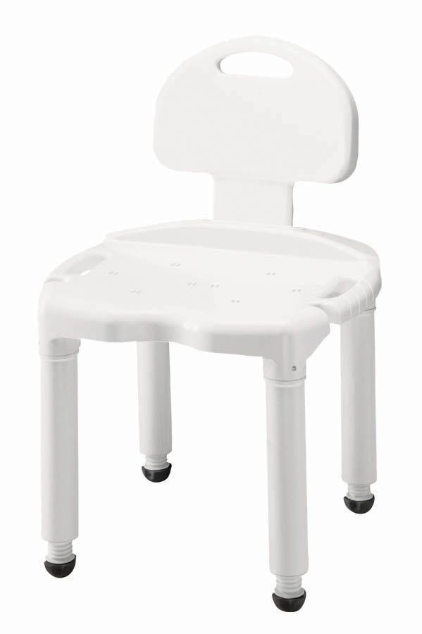 Bath Safety Bath and Shower Seats Universal Bath Bench W/ Back FGB671C0 0000   Carex Health Brands Available @EP Medical Equipment Pharmacy