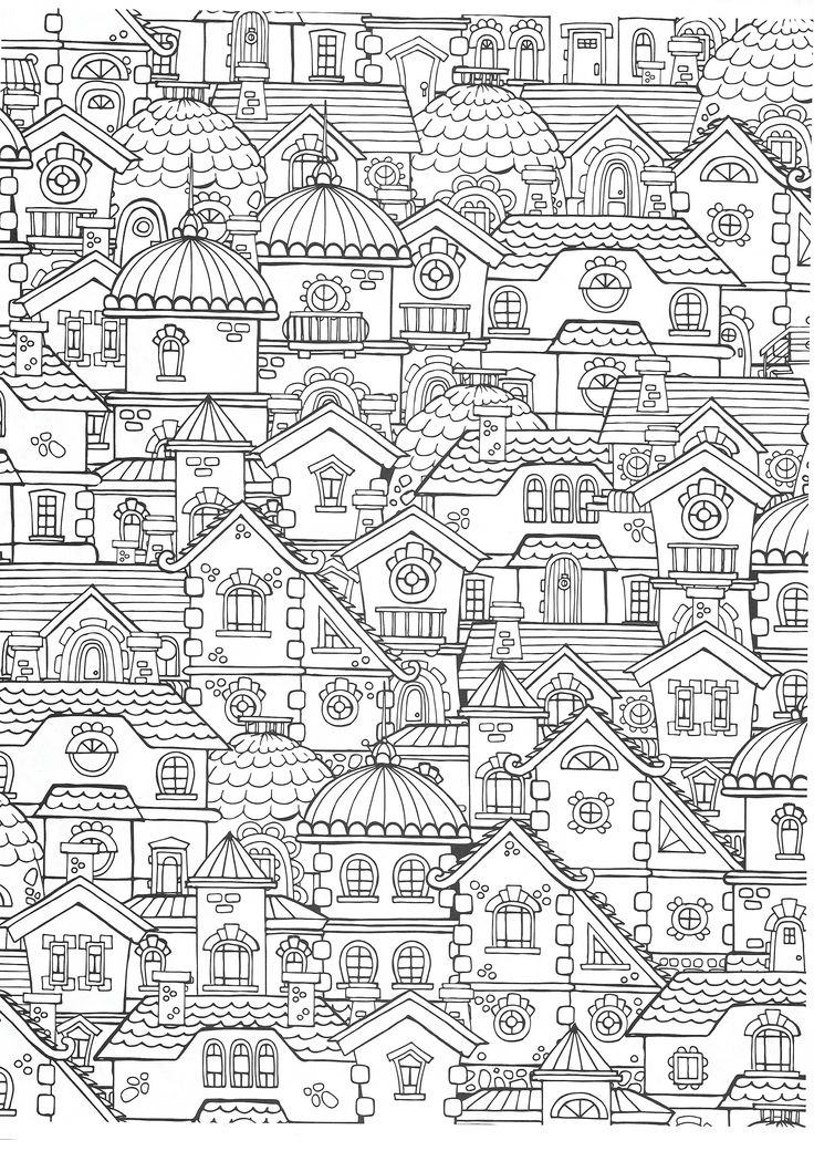 25 best adult coloring pages architectures images on for Harpsichord coloring page