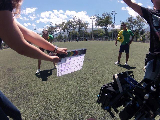 Comercial nuevas tendencias #medellin#antioquialamaseducada#teleantioquia  Football Freestyle www.andrestapias.com