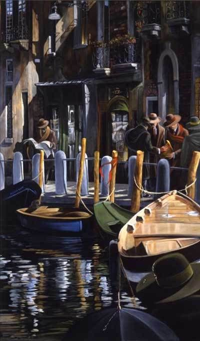 Artify Collections - Hand Painted High City Life Oil Painting Number 033, $73.24 (http://artifycollections.com/hand-painted-high-city-life-oil-painting-number-033/)