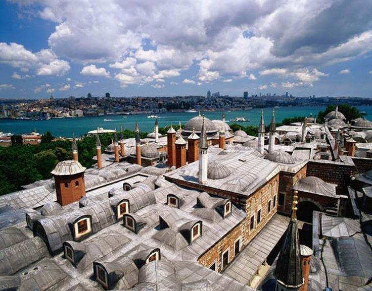 A View of Bosphorus Taken from Topkapi Palace, Istanbul