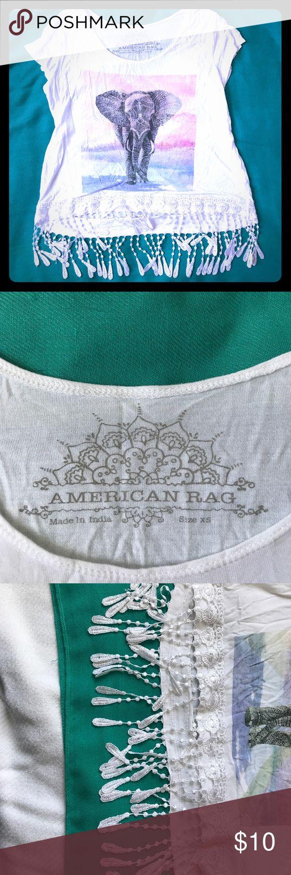 American Rag shirt XS American rag belly shirt American Rag Tops Crop Tops