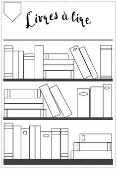 #bulletjournal #printable #collections #livres