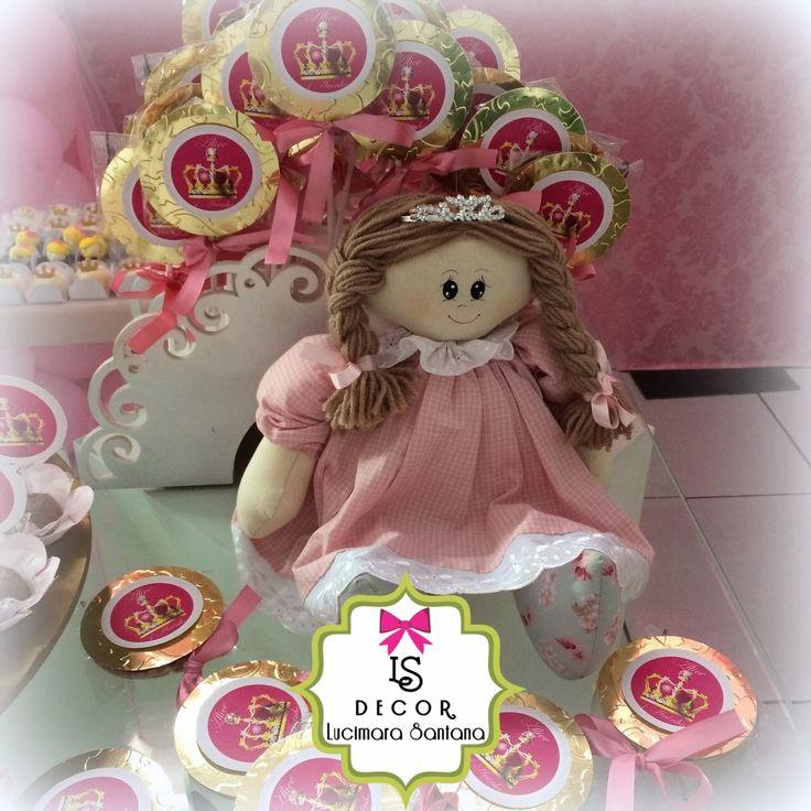 Pirulitos Personalizados Princesa