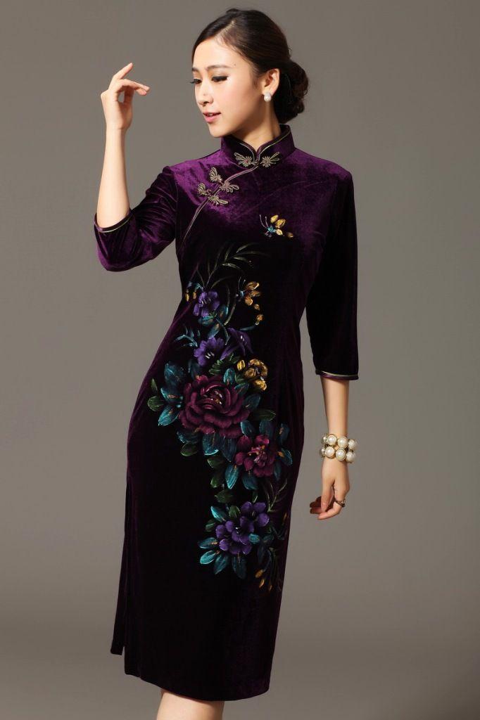 Найденное 19,097 китайское платье ципао результатов