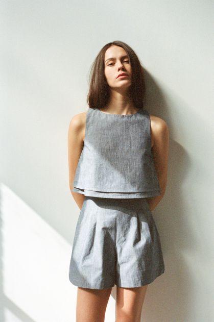 Best 25 Linen Shorts Ideas On Pinterest Women 39 S Minimal Style Ideas Minimal Fashion And