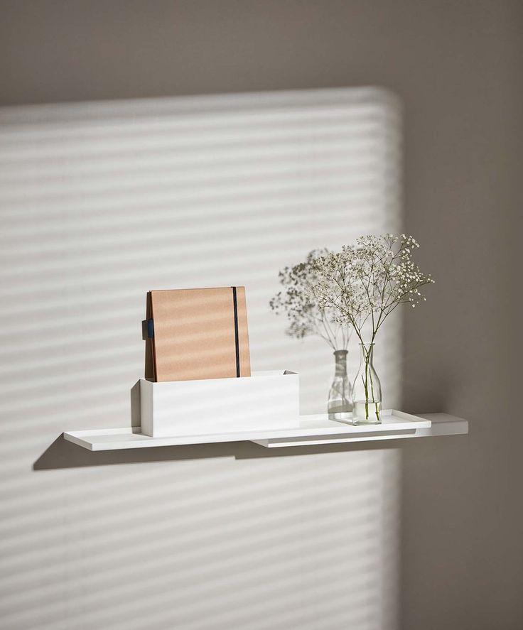 Duplex wall shelf