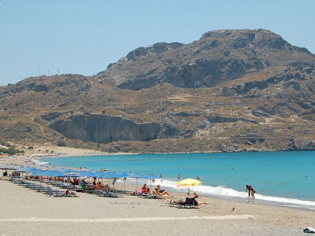 Plakias beach , South coast  #rethymno #greece #crete #summer_in_crete #beach