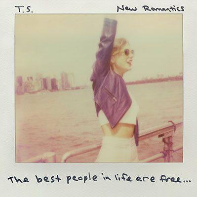 """Confira a capa do single """"New Romantics"""", novidade de Taylor Swift #Clipe, #Disco, #M, #Música, #Noticias, #Popzone, #Single, #TaylorSwift http://popzone.tv/2016/02/confira-a-capa-do-single-new-romantics-novidade-de-taylor-swift.html"""