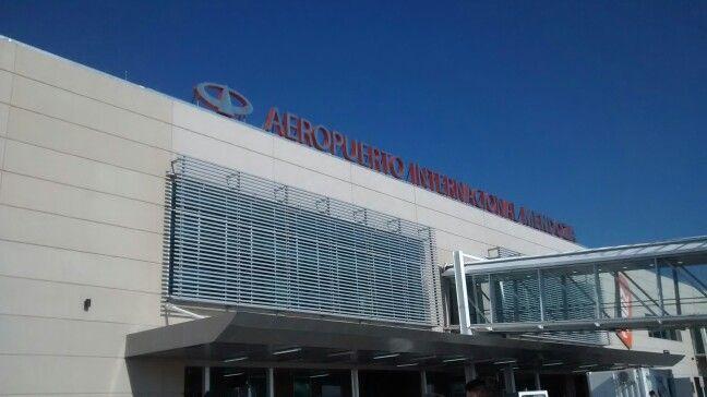 Aeropuerto de Mendoza, Argentina.