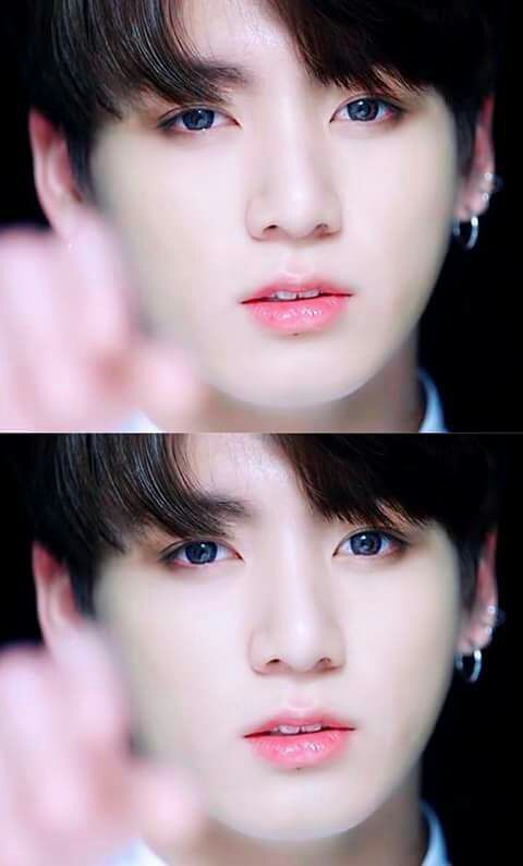 Jeon Jeongguk-hyung looking  beautiful  as always but I wish the editors would stop white was hi I'd it wasn't necessary.