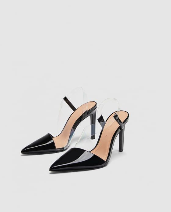 36e6fa13ccd Image 4 of VINYL ASYMMETRIC COURT SHOES from Zara