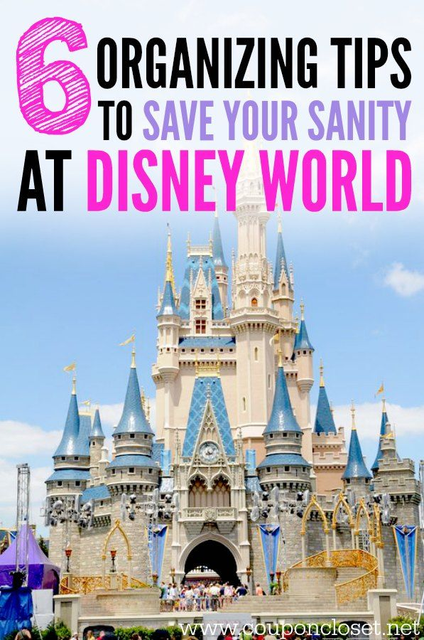 6 Disney World Tips To Save Your Sanity