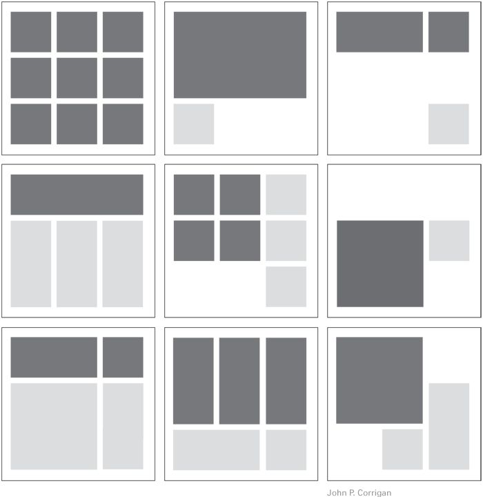 Best 25 design portfolio layout ideas on pinterest for Architecture 9 square grid