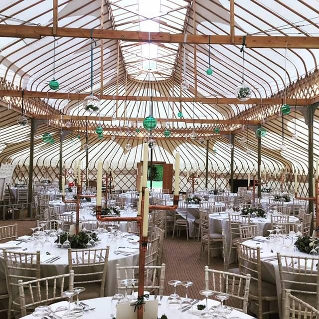 The Palace Yurt Stunning Alternative Venue Gloucestershire Wedding Yurt Cheltenham