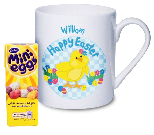 29 best easter gift ideas not just chocolate images on pinterest easter gift ideas personalised happy easter chick mug childrens easter gift 899 negle Choice Image