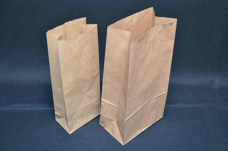 2 kg Papirpose m/klodsbund - 2310 - Brune papirposer til frugt og grønt - BK-Pack SHOP, 112kr