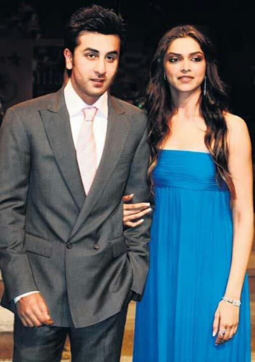 Deepika with Ranbir Kapoor