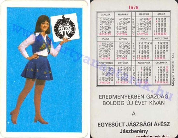 1978 - 1978_0917 - Régi magyar kártyanaptárak