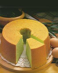 Chiffon Cake With Lemon Icing Recipe