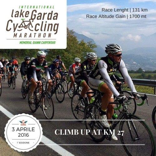Il 3 aprile 2016 parte da Torbole la prima edizione della Lake Garda Cycling Marathon @gardaconcierge